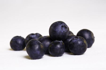 新鲜蓝莓背景
