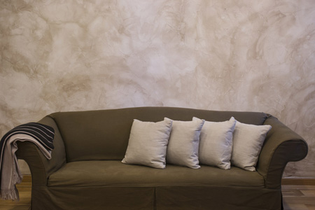 沙发上的靠枕