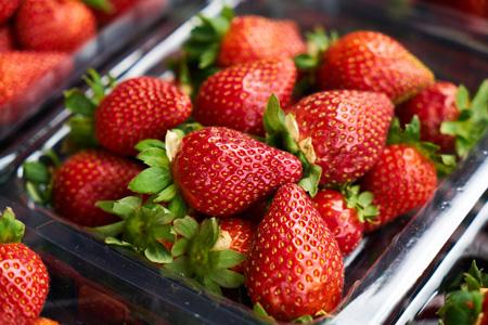 新鲜水果草莓背景