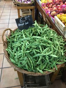 超市里的蔬菜