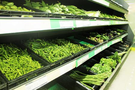 超市里的食材