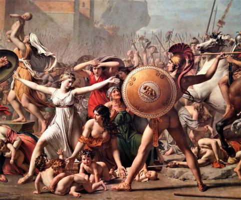 欧洲宗教人物油画