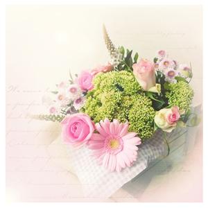 温馨的花束