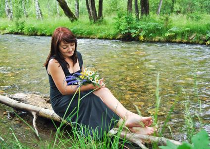 河水与美女