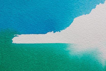 绿色蓝色水墨背景