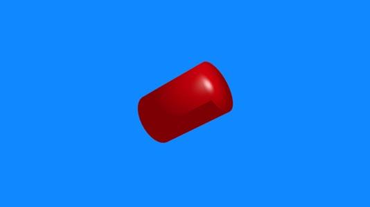 红色图形背景