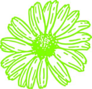 鲜花物图标设计