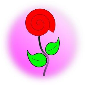 卡通花朵设计