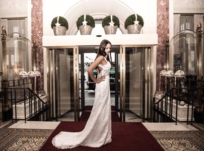 美丽新娘婚纱摄影