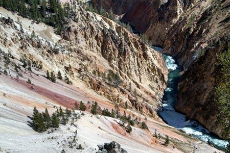 美国黄石河自然景观