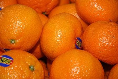 新鲜橘子摄影图