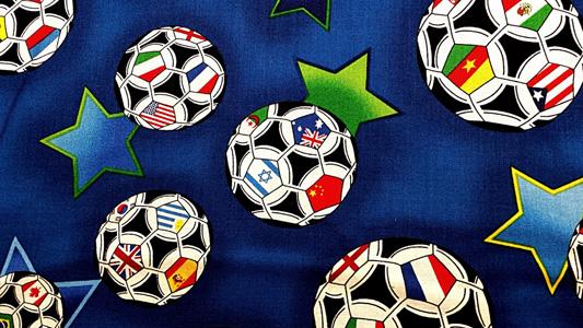 足球图案背景