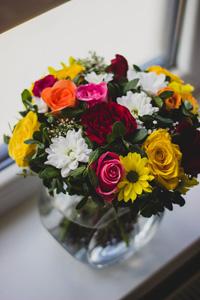 美丽的花束