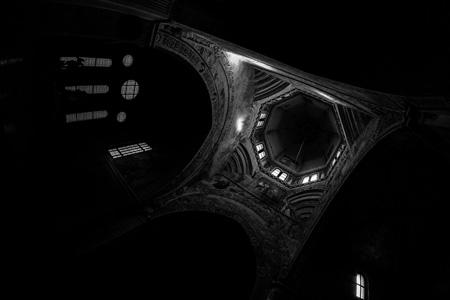 夜晚房屋建筑摄影
