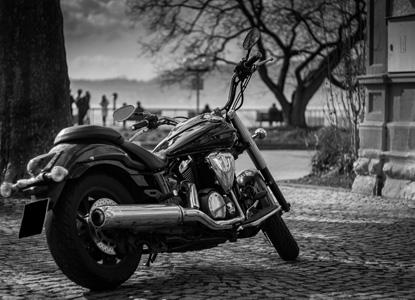 雅马哈摩托车背景