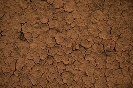 夏季开裂土地摄影背景