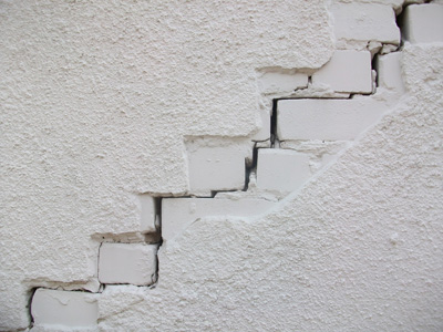 砖墙裂缝摄影背景
