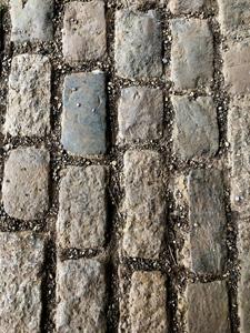 石砖路面摄影