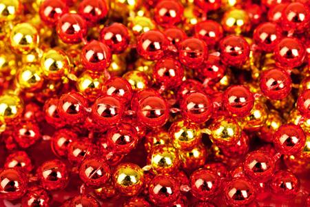 红色珠宝背景