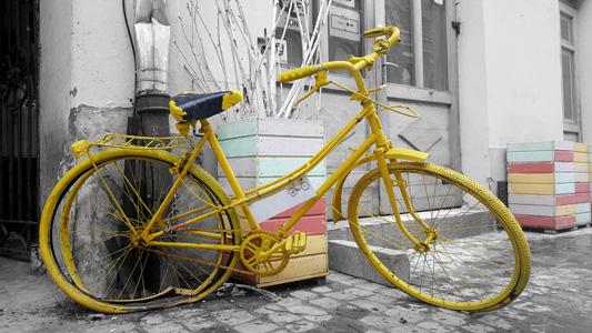 高清自行车背景