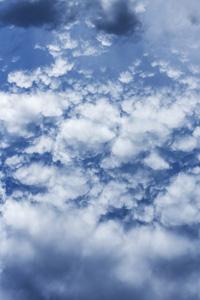 云朵的自然景观