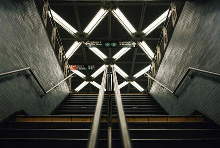 城市建筑台阶摄影