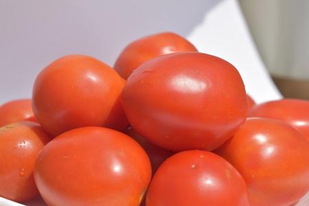 红色西红柿摄影