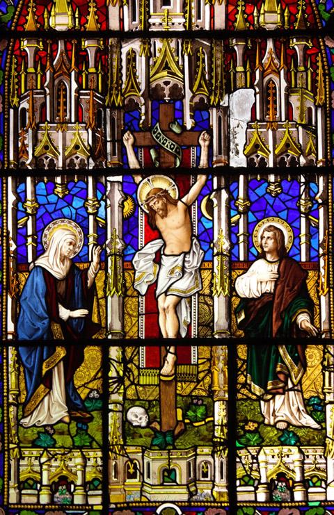 宗教人物油画